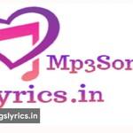 Mp3SongsLyrics